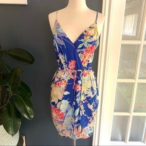 Yumi Kim▪️Jayne Floral Mini Dress in Blue Hawaii